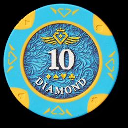 Фишка для покера Diamond номиналом 10