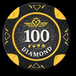 Фишка для покера Diamond номиналом 100