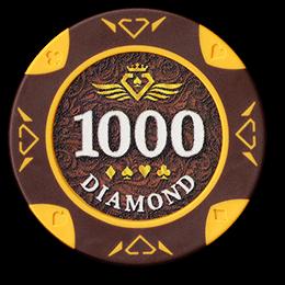 Фишка для покера Diamond номиналом 1000