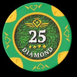 Фишка для покера Diamond номиналом 25
