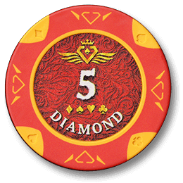 Фишка для покера Diamond номиналом 5