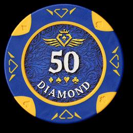 Фишка для покера Diamond номиналом 50