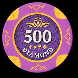 Фишка для покера Diamond номиналом 500