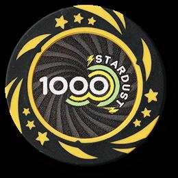 Фишка для покера Stardust номиналом 1000