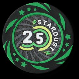 Фишка для покера Stardust номиналом 25