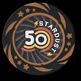 Фишка для покера Stardust номиналом 50