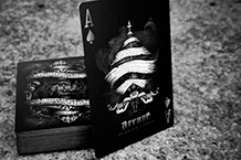 Игральные карты Ellusionist Arcane Black Edition