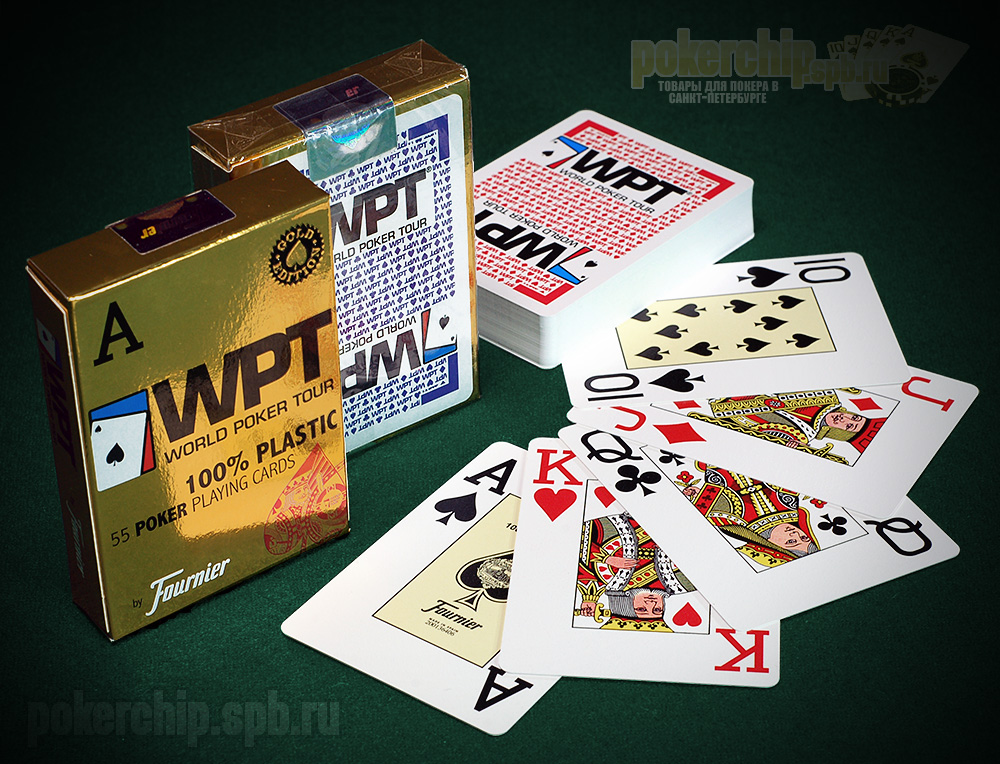 "Карты Fournier ""World Poker Tour"" (WPT) GOLD"