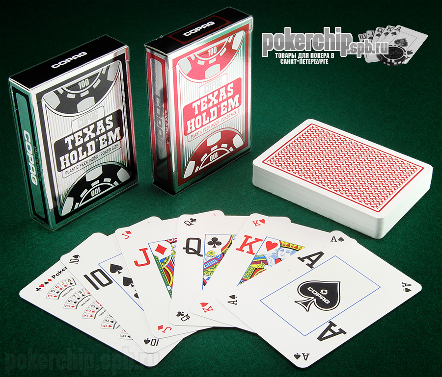 "Карты COPAG ""Texas Hold'em Dual Index"""