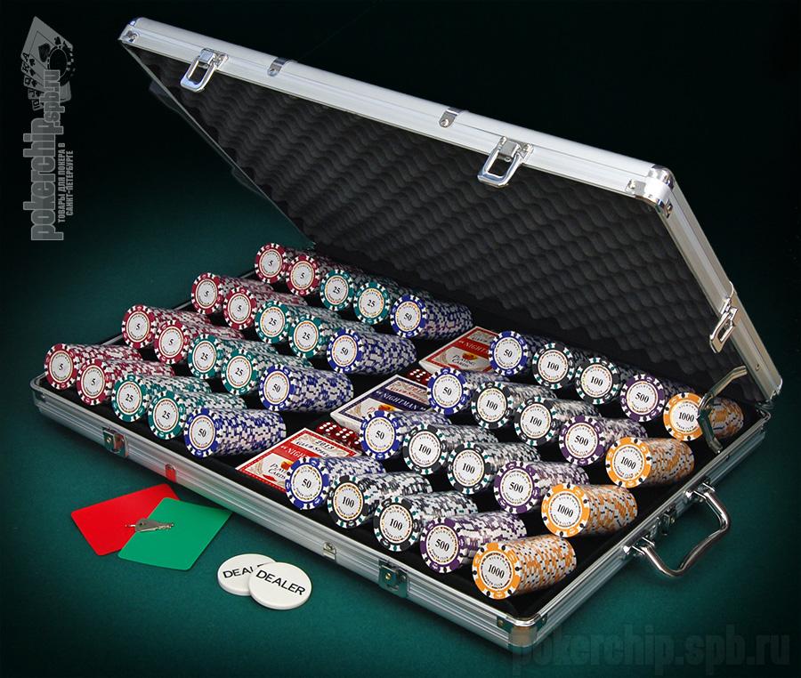 Покер 1000 Фишек