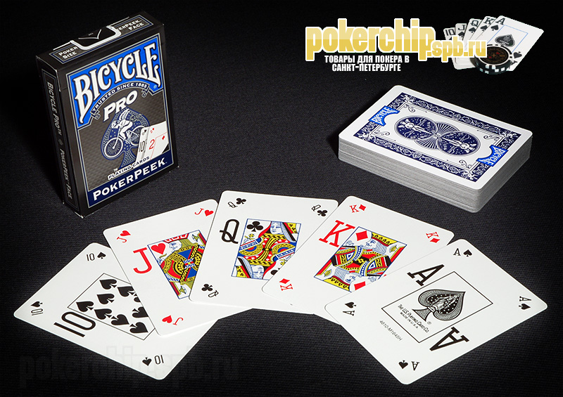 "Карты Bicycle ""Pro PokerPeek"""