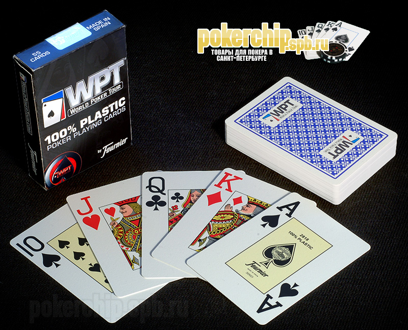 "Карты Fournier ""World Poker Tour"" (WPT)"