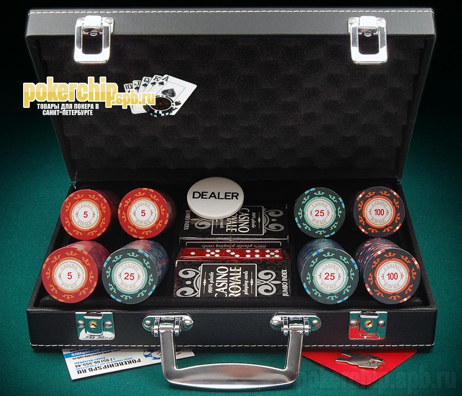 Набор Для Покера Casino Royal